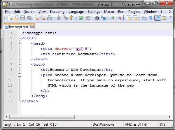 Notepad++-editor